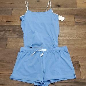 Calvin Klein Built-in Bra Tank Shortset Sleepwear